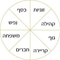 8 תחומי החיים