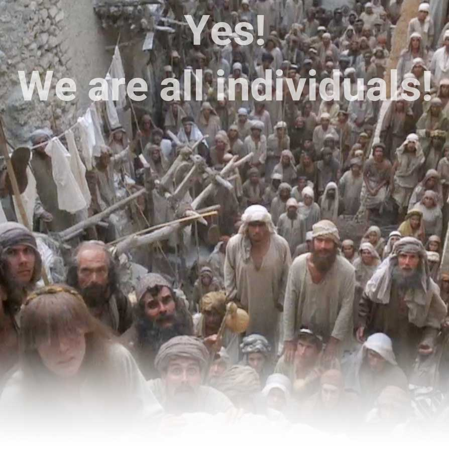 מיצמיצ we are all individuals